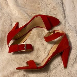 Red Vince Camuto Heels
